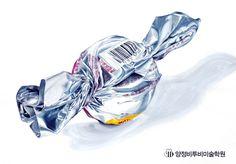 사탕 기초디자인 개체묘사(제작:양정비투비미술학원) #사탕 #은박지 #금속질감 #바코드 #비투비미술학원 #부산입시미술학원 #양정미술학원 #비투비 #서면미술학원
