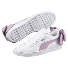 Puma Basket Suede Bow Women's Sneakers 8cf5e8a19
