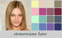Soft Summer - Natalia Vodianova - stonowane lato