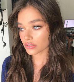 Natural Glowy Makeup, Dewy Makeup, Glam Makeup, Beauty Makeup, Hair Makeup, Hair Beauty, Almond Eye Makeup, Provocateur, Photo Makeup