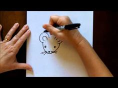 How to Draw a Mouse Cartoon Easy Drawing Lesson for Kids - YouTube