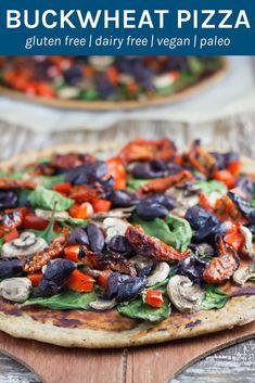 Gf Recipes, Pizza Recipes, Gluten Free Recipes, Whole Food Recipes, Cooking Recipes, Healthy Recipes, Flour Recipes, Skillet Recipes, Cooking Tools