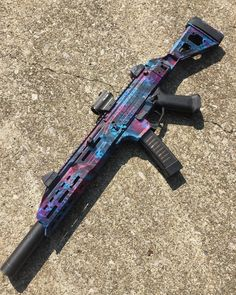 /r/guns: Firearms and related articles Military Weapons, Weapons Guns, Airsoft Guns, Guns And Ammo, Zombie Weapons, Pretty Knives, Armas Ninja, Submachine Gun, Custom Guns