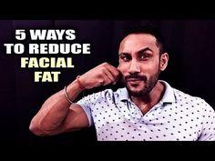 5 ways to reduce facial fat - YouTube