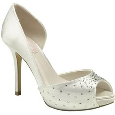 Cupid By Pink Bridal Shoes In Ivory http://www.bellissimabridalshoes.com/trends/platform-wedding-shoes/ivory-pink-cupid-bridal-shoes