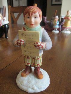 1992-MARY-ENGELBREIT-Hallmark-THE-WONDERS-of-CHRISTMAS-Ned-Figurine-