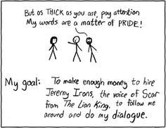 "xkcd ""Jeremy Irons""  (Movies that I know word-for-word, part one)"