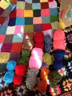 The crochet mood blanket 2014 | Le monde de Sucrette | Bloglovin'