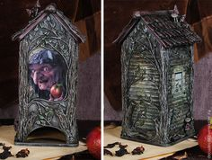 Баба Яга на все времена! Декорируем чайный домик - Ярмарка Мастеров - ручная работа, handmade