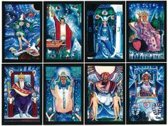 Starlight Illuminated Tarot, by Carol Herzer