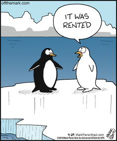 penguin's tuxedo was only rented | Off the Mark (2012-09-29) via GoComics