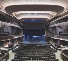 Revery Architecture and Ronald Lu & Partners Reinvent a Classic for Hong Kong's Xiqu Centre Contemporary Architecture, Architecture Design, Theatre Architecture, Plateau Tv, Concert Stage Design, Auditorium Design, Church Interior Design, Music Studio Room, Garage Renovation