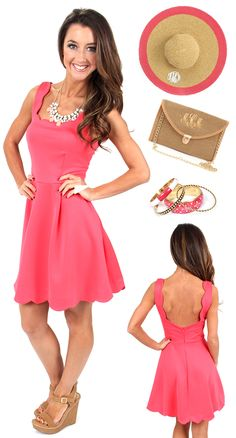 Are YOU ready for the derby?! mondaydress.com has the perfect dress for you + Marleylilly.com has the hottest accessories to spice up your outfit! #derby #coral #horserace #preppy #ootd
