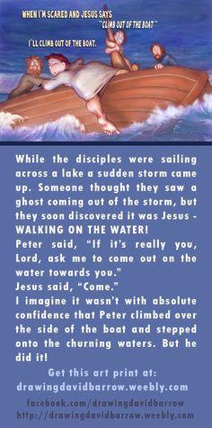 #biblestory #Jesus #art #print #sailing #inspirational #Christian #bible
