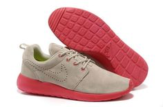 check out 9b854 a38d8 Mens Nike Roshe Run Sand color - Alarm red Shoes Nike Shoes Cheap, Cheap  Nike