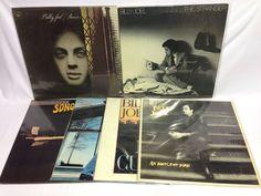 Billy Joel Vinyl Record LP Lot: 52nd Street Piano Man The Nylon Curtain Stranger