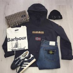 Casual Co, Moda Casual, Casual Attire, Casual Wear, Casual Outfits, Football Casual Clothing, Football Casuals, Football Fashion, Stone Island Clothing