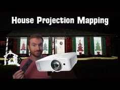 I Projection Mapped My House for Christmas... Christmas Artwork, House Map, Projection Mapping, Video Installation, Happily Ever After, The Unit, Teaching, Blessing, Period