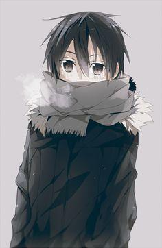 Kazuto - By Sword Art Online Kirito and Asuna ღ Manga Anime, Sao Anime, Manga Art, Anime Guys, Arte Online, Kunst Online, Online Art, Online Anime, Kirito Kirigaya