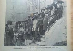 1909. Az első anya és csecsemő otthon átaadása, Thököly út 83.