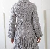 Minimissimi Sweater Coat - via @Craftsy