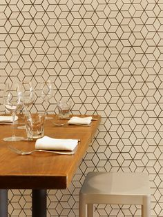Dwell Pattern Collection in Little Diamonds // Locanda Restaurant in San Francisco