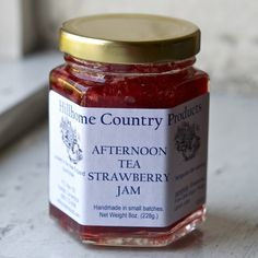 Afternoon Tea Strawberry Jam | Many Kitchens