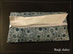 Distributeur de mouchoirs en tissu réalisé par mes soins // Motifs-Addict.fr | Sélection de beaux motifs et création d'objets textiles et en papier