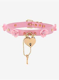 Kawaii Jewelry, Kawaii Accessories, Cute Jewelry, Jewelry Accessories, Pink Jewelry, Pastel Goth Fashion, Kawaii Fashion, Ropa Color Pastel, Style Kawaii