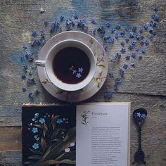 Fonte:natureandbeauty #tea#books