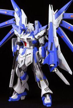"1/144 nu Gundam ""Brave"" Custom Build - Gundam Kits Collection News and Reviews"