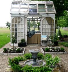 The mightily charming Tinker House...created by Donna Reyne. via d.reyne