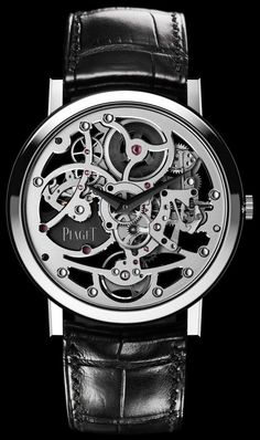 detail    ALTIPLANO SKELETON ULTRA-THIN, Piaget Timepieces and Luxury Watches on Presentwatch