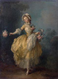 Jean-Frédéric Schall Jeune femme à la robe jaune 24 x 31 cm Villa Ephrussi de Rothschild (Saint-Jean-Cap-Ferrat)
