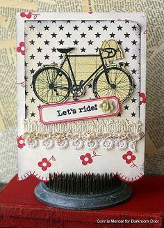 crafty goodies: Darkroom Door ~ Enjoy The Ride Stamp set