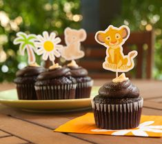 Lion King Food Toppers. Add a bit of Simba and Nala to your shower treats with these fun, printable Lion King food toppers.
