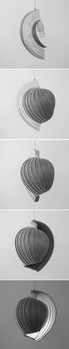 Flat pack 25 Lamp is one step towards biomimetic electricity-free lighting