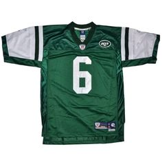 New York Jets Reebok Sanchez Premier Stitched T-Shirt NFL Jersey