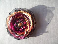 bombay flower brooch