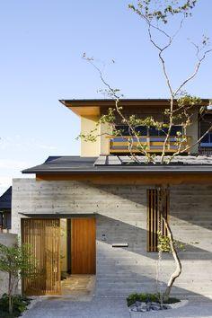 "architags: ""TSC Architects.日ノ宮の家. Japan. photos: TSC Architects """