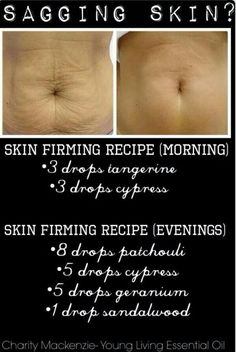 Skin firming, and not just for tummies !!