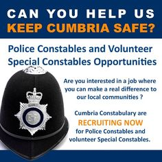 Cumbria Constabulary open recruitment for new Police Constables http://www.cumbriacrack.com/wp-content/uploads/2016/09/recruitment-police.jpg Cumbria Constabulary has this week opened recruitment for new Police Constables. The new constables will play a key role in serving their local community    http://www.cumbriacrack.com/2016/09/23/cumbria-constabulary-open-recruitment-new-police-constables/