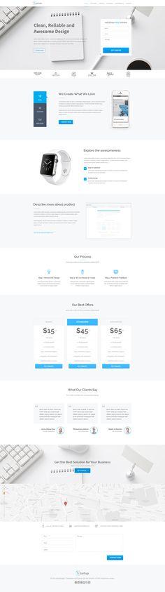 Startup_landing_page