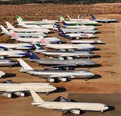 Boeing, Boeing Gone... Aircraft graveyard