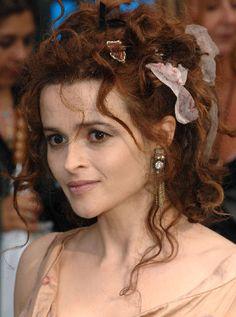 Helena Bonham Carter formal Hairstyle