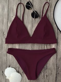 Cami Plunge Bralette Bikini Top and Bottoms You are in the right place about swimsuits bikini two pi Bikinis Nz, Summer Bikinis, Cute Bikinis, Swim Suits Bikinis, Bikini Swimwear, Summer Bathing Suits, Girls Bathing Suits, Summer Suits, Bathing Suit Top