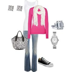 weekend outfit, created by melissa-bachman.polyvore.com