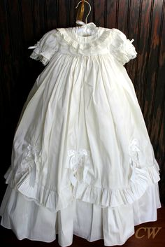 Victorian Christening gown  Baby Eleanor, time for me to start shopping for the perfect Baptism gown!  Love this