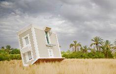 Een ongewoon huis in Marokko: een huis op zijn kop