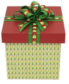 Caja de madera / Regalo / Navidad 2014 / Adorno / Decoración